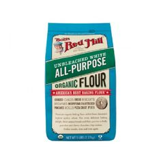Bobs Red Mill Organic Unbleached White All-Purpose Flour - 48 oz - Case of 4