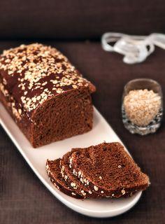 Sabores de Canela: Pão doce de alfarroba e sementes