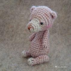 @thetinytoybox Bear is now complete! I was able to make very fun! Thank you very much! I am in the future is also looking forward to your work! できたー@thetinytoybox さんの編み図で#amigurumi #knitting #bear #あみぐるみ #くま #編み物 #かぎ針 #amigurumis #amigurumidoll #amigurumicrochet #amigurumilove #tttbbearproject #thetinytoybox by rin_amiami