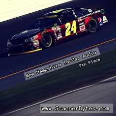 A good 7th place finish for Jeff at New Hampshire last week.  One more race before the next Chase cutoff.  #nascar #jeffgordon  http://www.scannerbytes.com/2015/09/27/jeff-gordon-new-hampshire-in-car-audio/