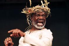 Feisty King Lear Joseph Marcell