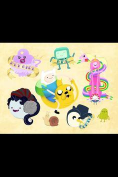 Adventure time tattoo designs