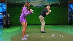 School of Golf's Martin Hall and Holly Sonders teach three drills that helped Sam Snead develop one of the game's best swings. Watch School of Golf Wednesdays 7PM ET. http://www.caddybuzz.com