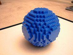 Small Lego Sphere Projekt by Buxley's LEGO page (www.brillig.com)