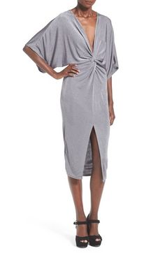 Missguided Kimono Midi Dress available at #Nordstrom