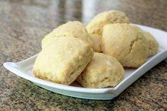 Amazing Lemon Cream Scones: Lemon Cream Scones