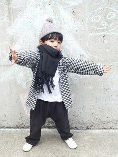 yu_naさんのシャツ・ブラウス「Right-on KIDS 」を使ったコーディネート