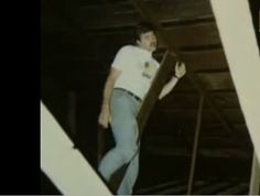 """Fanciful though it may be, this is a spooky story. Here's """"Jeff Wheatcraft being hung from his neck by an unseen force."""""""