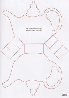 Cute teapot template...http://www.pinterest.com/colettescottage/tea-cards-invitations-tea-crafts-etc/
