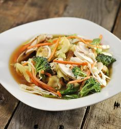 The SimpleGreenMoms' version of Panera Bread's Thai broth bowl is healthy and delicious