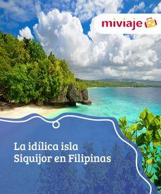 La idílica isla Siquijor en Filipinas  No es la más conocida de #Filipinas, pero la isla Siquijor es un verdaderos #paraíso, un lugar donde disfrutar de unas fantásticas #playas muy poco concurridas. #Destinos