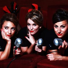 The Darlings - Cabaret Trio - London. Vocal harmonising trio made up of three west end wendies, singing jazz, musical theatre and chart topping hits with a barber shop twist.
