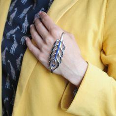 Шикарный, стильный серебряный браслет на ладонь от KAZKA Jewelry  #kazkajewelry #украшения #роскошь #ювелирныеукрашения #серебро