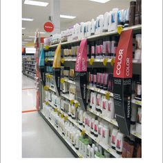 Popon | Image Gallery | Pantene Curved Aisle Violaters