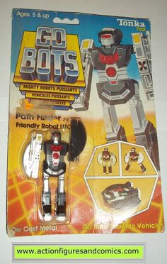 gobots PATH FINDER mr-29 ufo 1984 tonka ban dai toys action figures moc mip mib vintage transformers