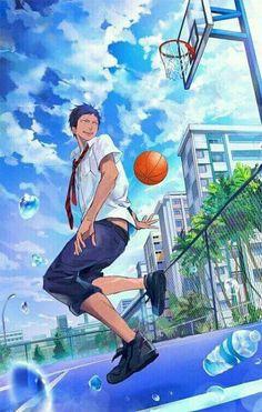 kuroko was always left out. although things change drastically when kuroko starts his first year at middle school. Manga Anime, Fanart Manga, Fanarts Anime, Anime Characters, Anime Art, Kuroko No Basket, Aomine Kuroko, Kagami Taiga, Akashi Seijuro