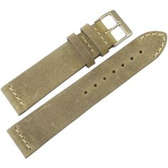 18mm ColaReb Venezia Swamp Olive Brown Distressed Leather Italy Watch Band Strap #ColaReb