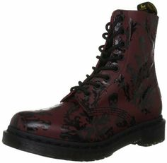 Dr Martens Cassidy Softy T Hi Shine Print, Boots femme