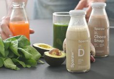 Identity and rebrand for organic food and cold pressed juice factory.