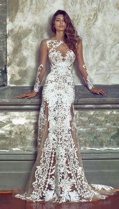 Lacey Mermaid Dress