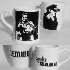Johnny Cash, Tableware, Dinnerware, Dishes, Porcelain Ceramics
