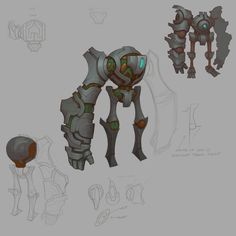 ArtStation - Hob Monsters, Kyle Cornelius