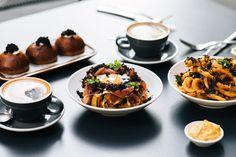 For Devon Cafe. Photographed on location for their truffle menu, in Sydney. Devon, Sydney, Truffles, Menu, Food, Cake Truffles, Menu Board Design, Essen, Yemek