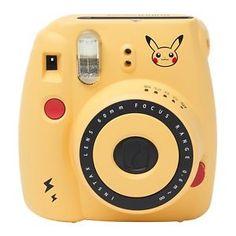 Pokemon Center Japan Original Instax Mini 8 Pikachu Pocket Camera With Strap for sale online Polaroid Instax Mini, Instax Mini 8, Fujifilm Instax Mini, Cute Camera, Camera Art, Digital Camera, Pikachu, Pokemon, Instax Accessories