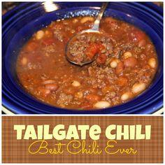 Tailgate Chili THE BEST CHILI!!!