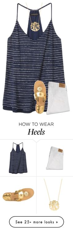 """{I want a beach body, but I also want a cookie...}"" by preppy-southern-girl-1-2-3 on Polyvore featuring Banana Republic, Abercrombie & Fitch, Jack Rogers and Moon and Lola"