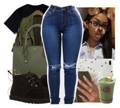 """All Eyez"" by anariebreezy ❤ liked on Polyvore featuring windsor., Retrò, UGG and Kate Spade"