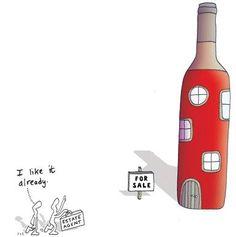 Casa pentru iubitorii de vin