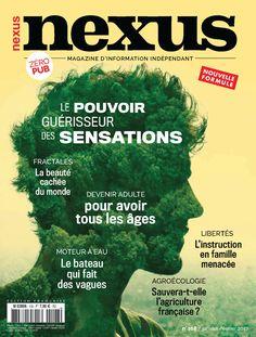 Numéro 108 – Nexus Le pouvoir des sensation: un article sur tipi, avec interview de Luc Nicon Fractal, France, Comic Books, Magazine, Movie Posters, Interview, Film Poster, Magazines, Cartoons