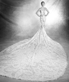 Verda, robe de mariée sexy, décolleté en cœur, style romantique