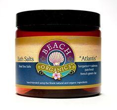 Beach Organics Dead Sea Bath Salt Atlantis Scent Oakmoss Patchouli and Bergamot Essential Oils 12 oz -- You can get additional details at the affiliate link Amazon.com.