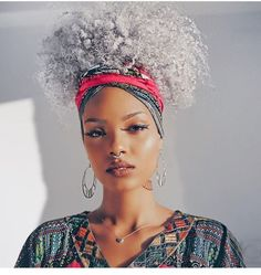 Learn how to tie a head wrap like a BOSS: http://curlsunderstood.com/3-head-wrap-styles-for-natural-hair