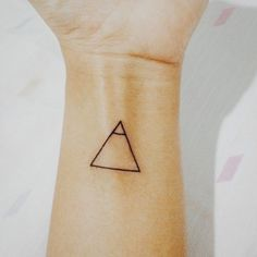 "20 Small Tattoos With Big Meanings | A glyphs means ""explore."" It was meant as a reminder for me to never stop exploring."