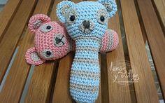rattle amigurumi crochet free pattern patrón gratis