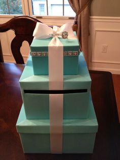 Make a Tiffany Wedding Card Box | eHow.com How to Make a