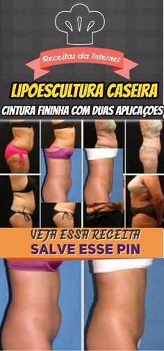 Cintura fininha com apenas duas aplicações #dicas #caseira #técnica #de #lipoescultura #caseira #emagrecer #com #saúde