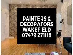 Local Painter And Decorators Near Me. Local Painters, Any Job, Eye For Detail, Wakefield, Free Quotes, Decor, Decoration, Decorating, Deco