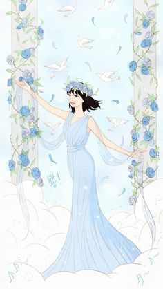Spirit Fingers - Baeblue Finger Manga Love, Anime Love, Spirit Fingers Webtoon, Girl Hair Drawing, Webtoon Comics, Digital Art Girl, How To Draw Hair, Anime Comics, Cartoon Wallpaper