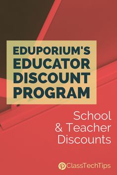Check out Eduporium's School and Teacher Discounts! The team at Eduporium creates custom kits and bundles for educators based on their specific needs.