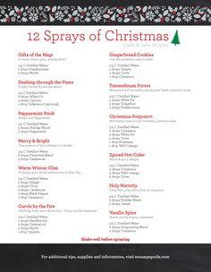 12 Sprays of Christmas Recipes