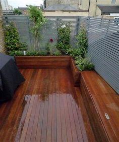 Roof Garden Design London - garden look Roof Terrace Design, Pergola Design, Patio Design, Exterior Design, Diy Pergola, Pergola Shade, Pergola Kits, Pergola Ideas, Terrace Ideas