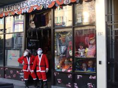 The CHEAPEST Santa Suits in this town are at Costumes On Haight! duh!