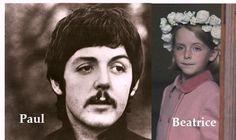 bea mccartney | Beatrice McCartney - Our Story Beatles Love, Step Kids, Ringo Starr, George Harrison, Lady And Gentlemen, Paul Mccartney, John Lennon, Pop Music, Baby Love