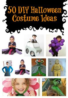 50 DIY Halloween Costume Ideas via BargainBriana.com
