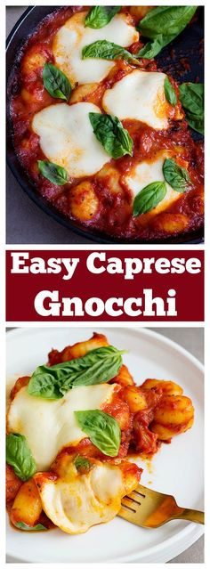 Have a fancy homemade meal in twenty minutes! Make this Easy Caprese Gnocchi so your entire family can enjoy a delicious meal together.