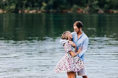 Engagement Photos at Melton Hill Park Knoxville, Lake Engagement Photos, Wedding Photographers Knoxville | Erin Morrison Photography…